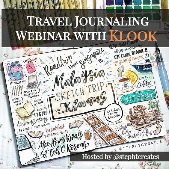 Travel Journaling Webinar (4 Jun, 7.30pm)