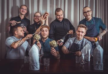Ravintola Uoma henkilökunta