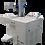 Gravação a laser QR code placa Mercosul estrutura aberta