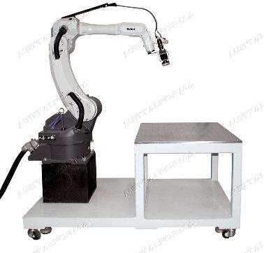 Solda a Laser com Robô