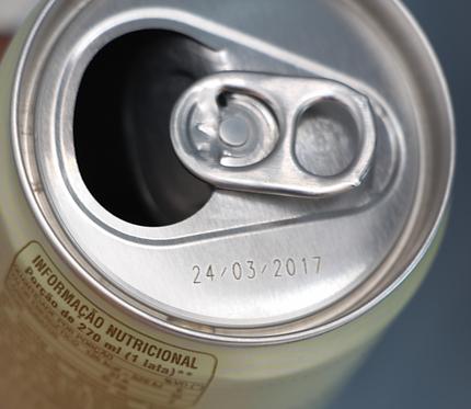 Impressão em latas de alumínio e de metal