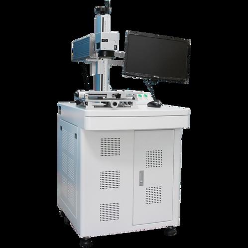 Maquina laser gravação fibra óptica