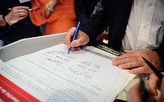 Signature 20 janvier 2017 Eurojuris - charte éthique marche du droit en ligne