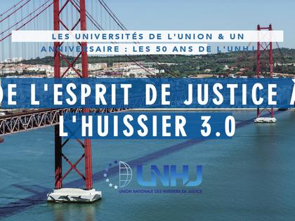 Signature collective de la Charte Ethique au Congrès de l'UNHJ les 28 et 29 septembre 2017 à Lis
