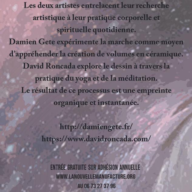 Exposition au centre d'Art La Nouvelle Manufacture. Saint-Martin de Valamas. Ardèche. 2020