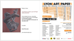 Exposition Salon Art PaperExposition collective Lyon Octobre 2021