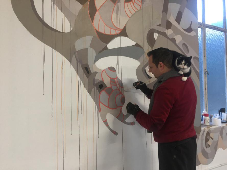 Peinture murale 2020