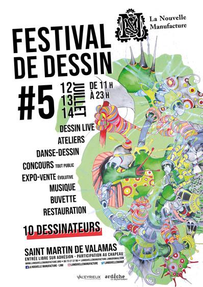Festival de dessin. Ardèche