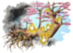 #Art #Hommage Coronavirus #Illustration