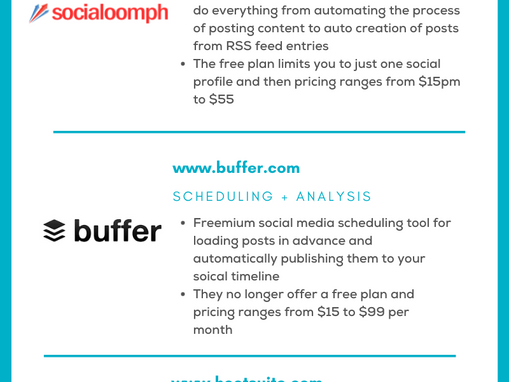 5 SCHEDULING TOOLS TO HELP YOU POST MORE ON LINKEDIN