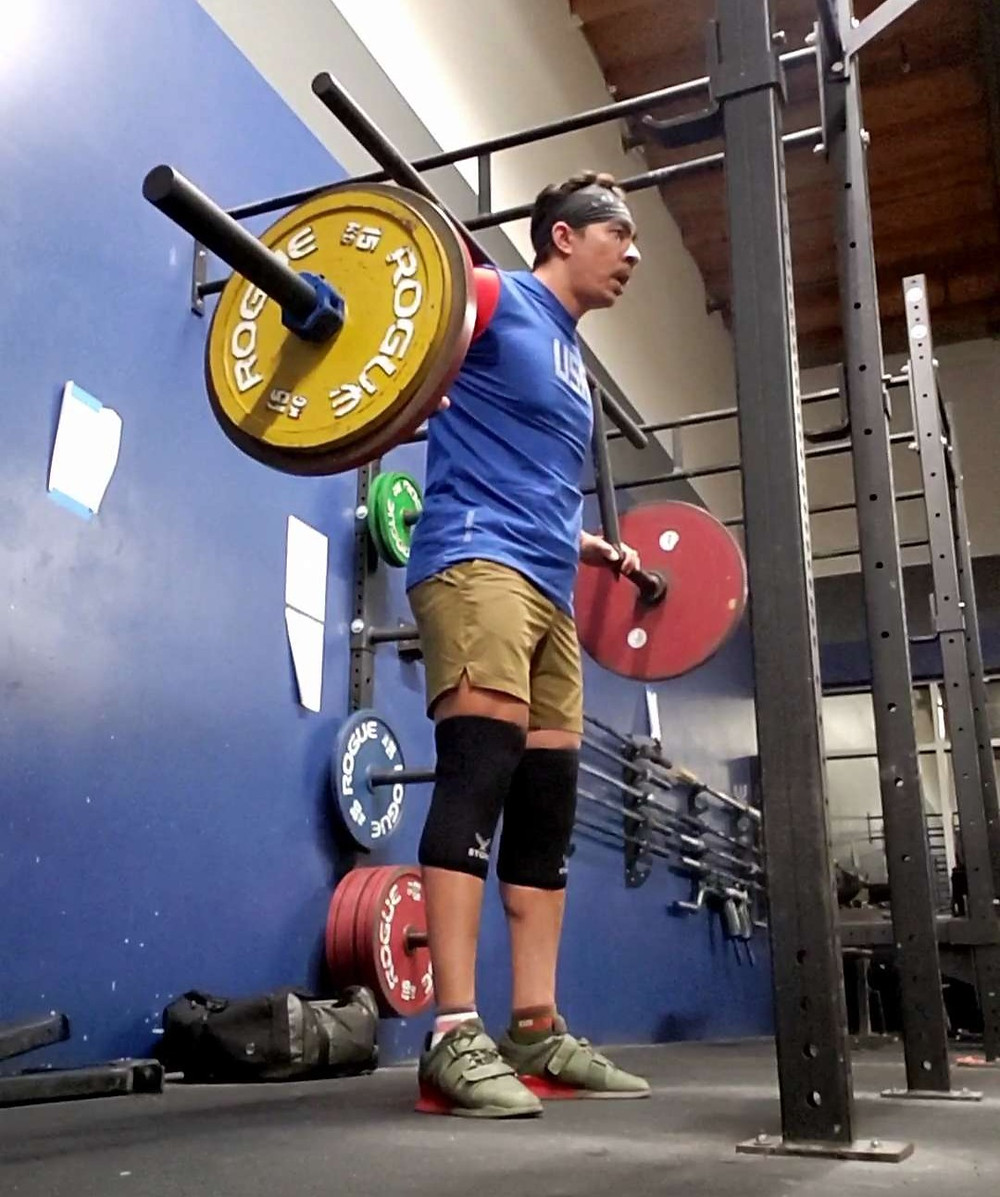 different types of squats camber bar