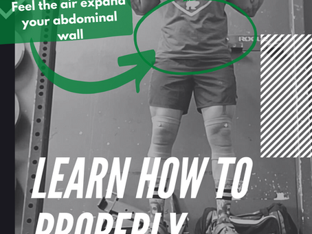 How to Properly Brace for Lifts and Strengthen Your Core