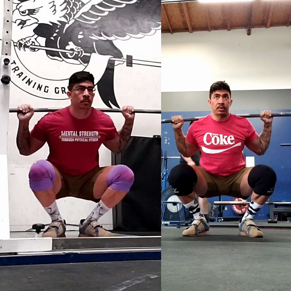 narrow stance squat vs regular squat
