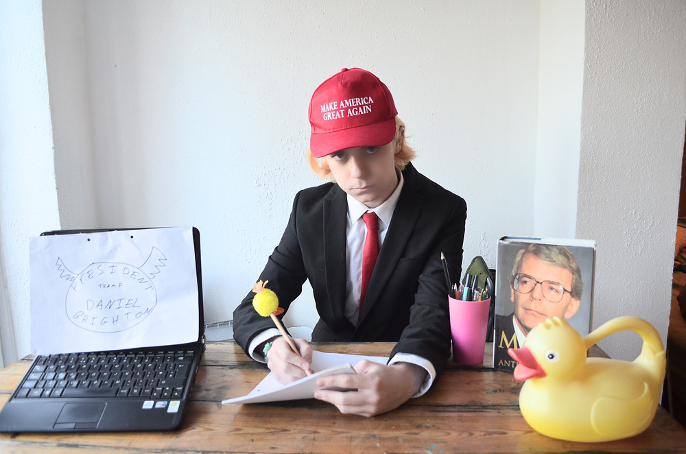 Trump writing the new LDP videos.