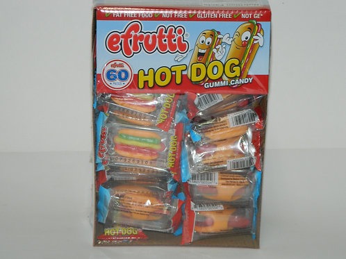Gummy Hot Dogs (60 ct.)