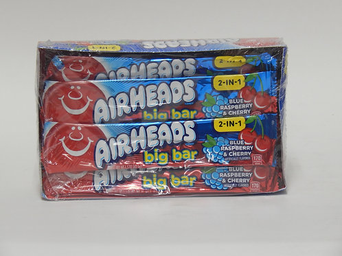 Air Heads Big Bar 2-in-1 (24ct)