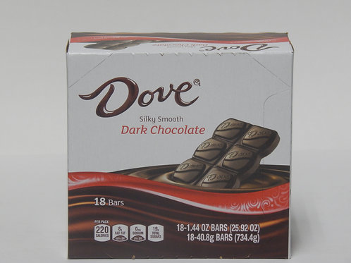 Dove Dark Chocolate (Case of 18)