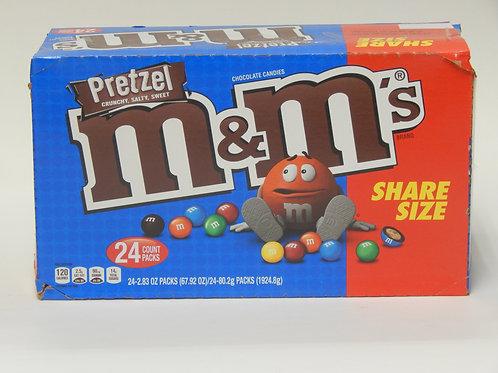 Share Size Pretzel M&M's (Case of 24)