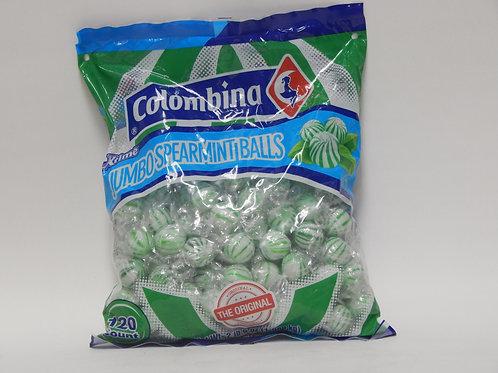 Colombina Jumbo Spearmint Balls (120ct)
