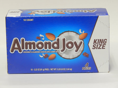King Size Almond Joy (Case of 18)