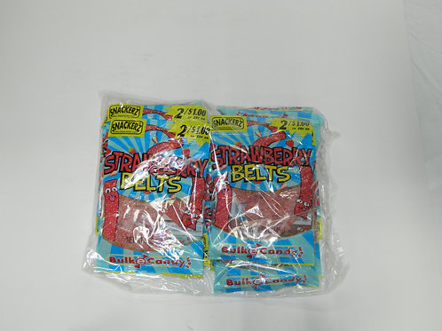 Snackers - Strawberry Belt (10 bags)