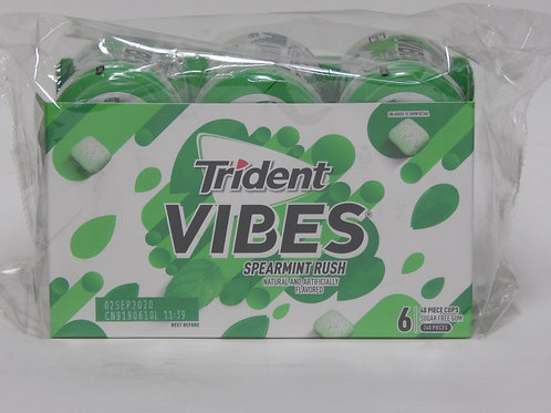 Trident Vibes - Spearmint (6 Bottles)