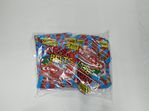 Snackers - Cherry Belts (10 bags)