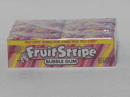 Fruit Stripe - Bubble Gum (12 pack)