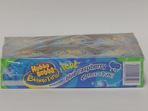 Hubba Bubba Tape - Blue Raspberry (12 pack)