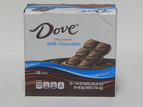Dove Milk Chocolate (Case of 18)