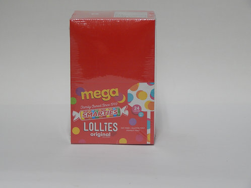 Smarties Mega Lollies (24 ct.)