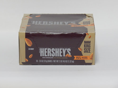 King Size Hershey's Almond (Case of 18)