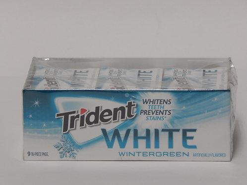Trident White - Winter Green (9 pack)