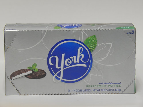 York Peppermint Patties (Case of 36)