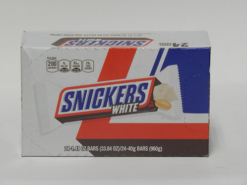King Size Snickers White (Case of 24)