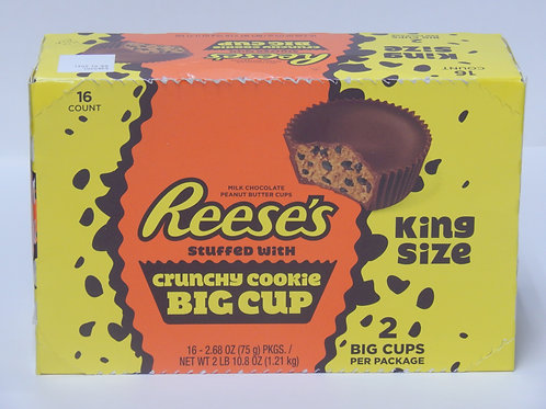 King Size Reece's Crunchy Cookie (16ct)