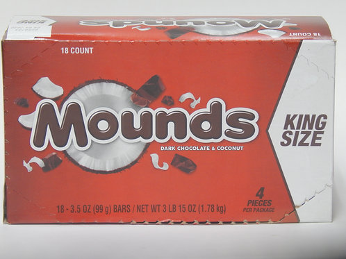 King Size Mounds (Case of 18)