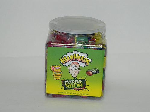 War Heads Extreme Sour Bucket (240ct)