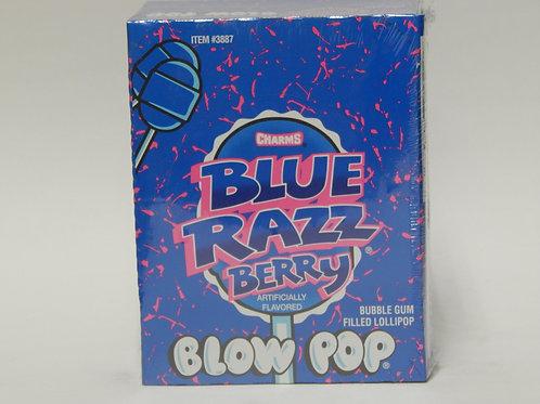 Blow Pops Blue Razz (48 ct.)