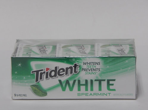 Trident White - Spearmint (9 pack)
