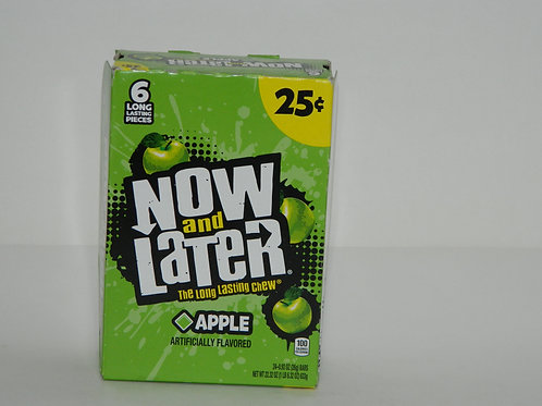 Now and Later  - Apple (24ct)