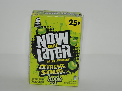 Now and Later  - Extreme Sour Apple (24ct)