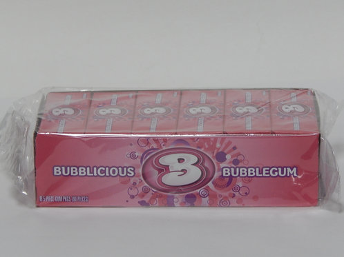 Bubblicious - Bubble Gum (18 pack)