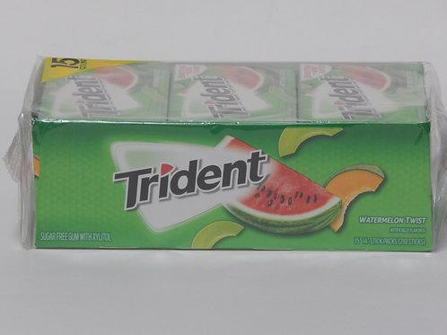 Trident -Watermelon (15 pack)