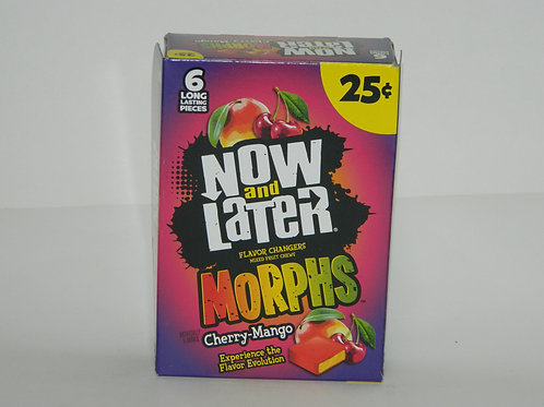 Now and Later - Morphs Cherry-Mango  (24ct)
