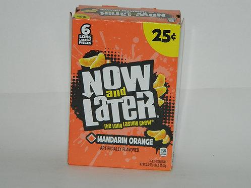 Now and Later - Mandarin Orange (24ct)