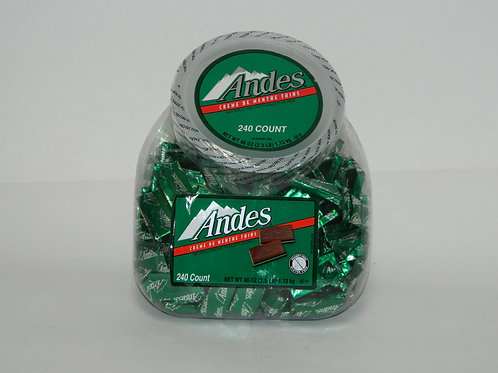 Andes Chocolate Mints Jar (240 ct.)