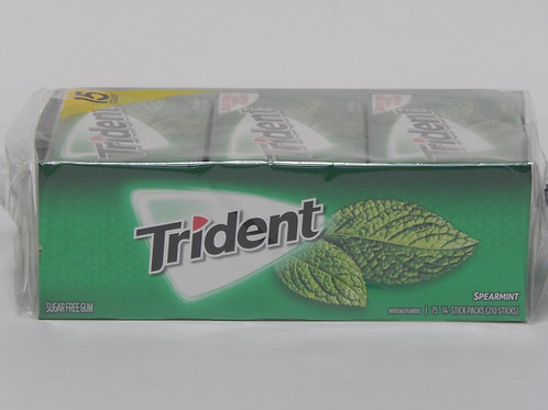 Trident - Spearmint (15 pack)
