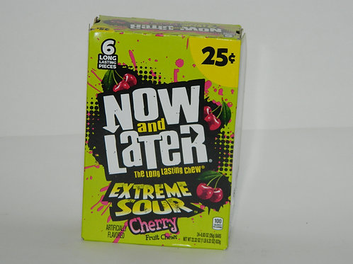 Now and Later - Extreme Sour Cherry (24ct)