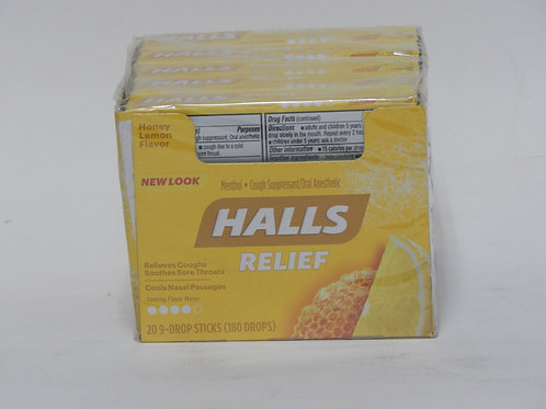 Halls Honey Lemon (20ct.)